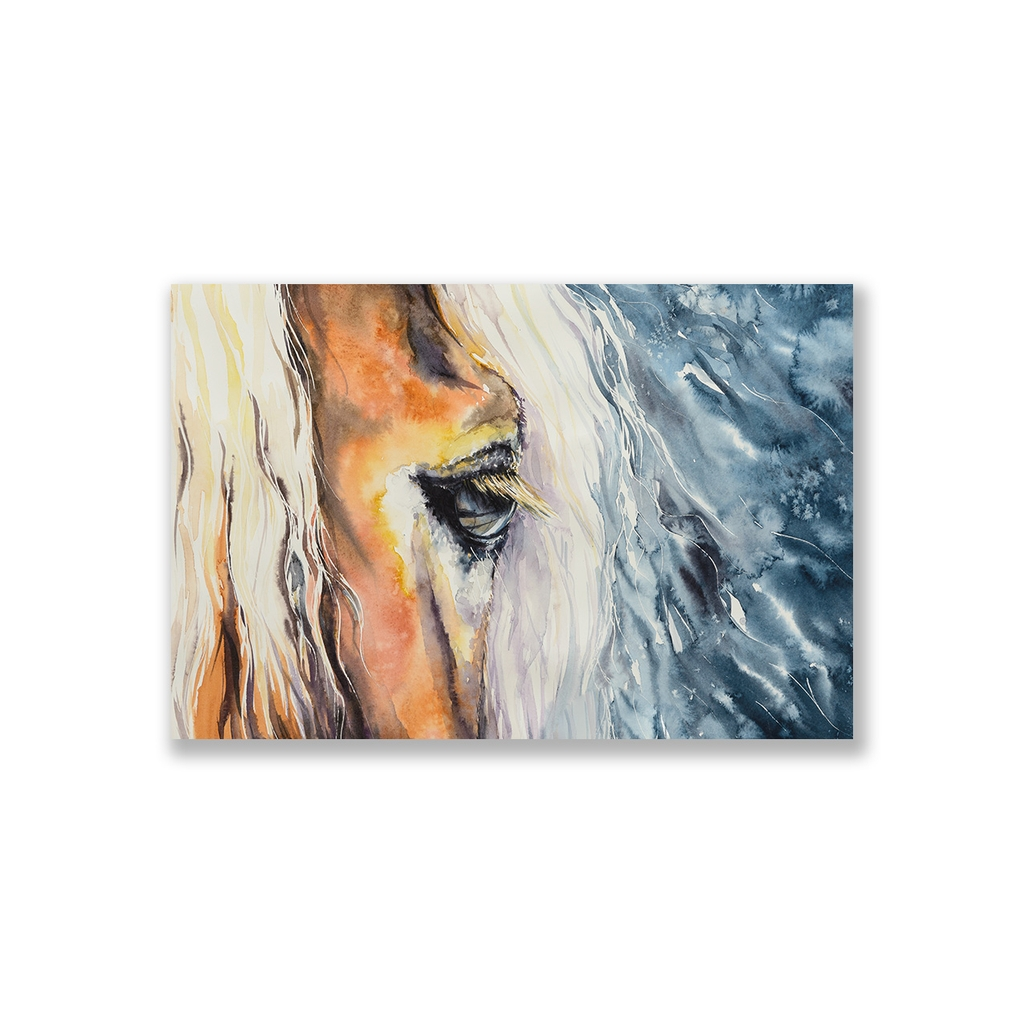 Tranh Horse watercolor SN0093
