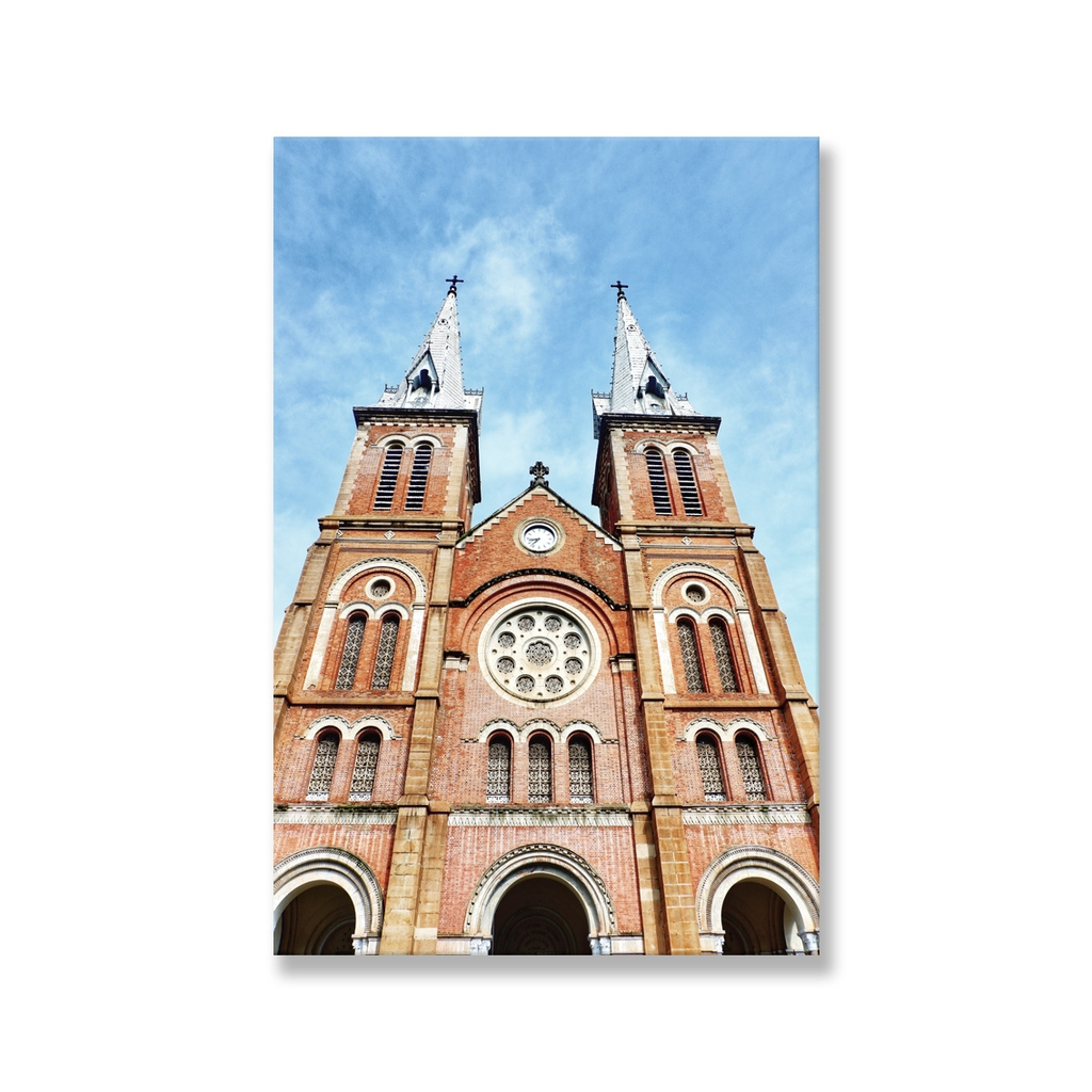 Tranh Immaculate Conception Cathedral Basilica , Saigon