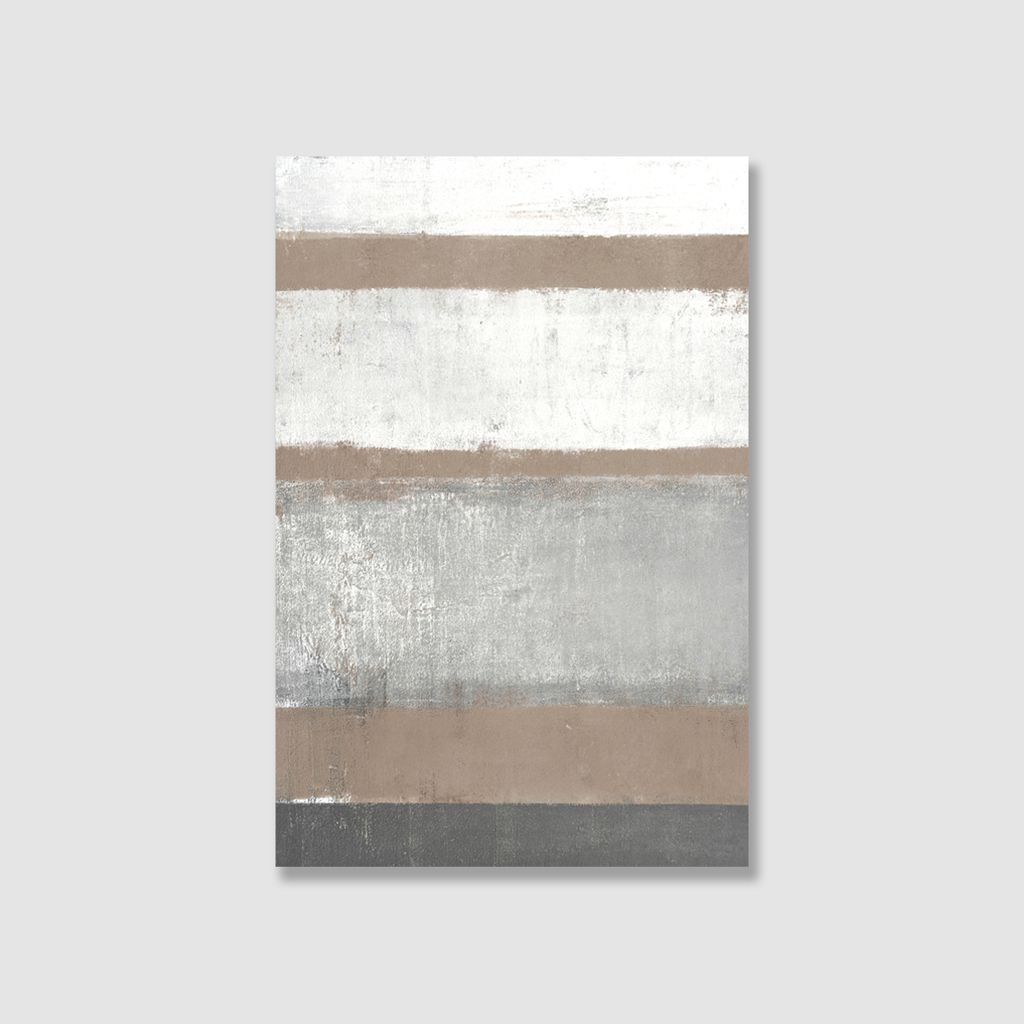 Tranh Abstract, Simple, Grey, Brown SU0108