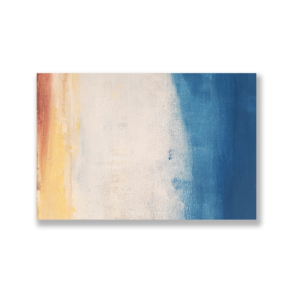 Tranh Abstract Color painting, Blue SU0120
