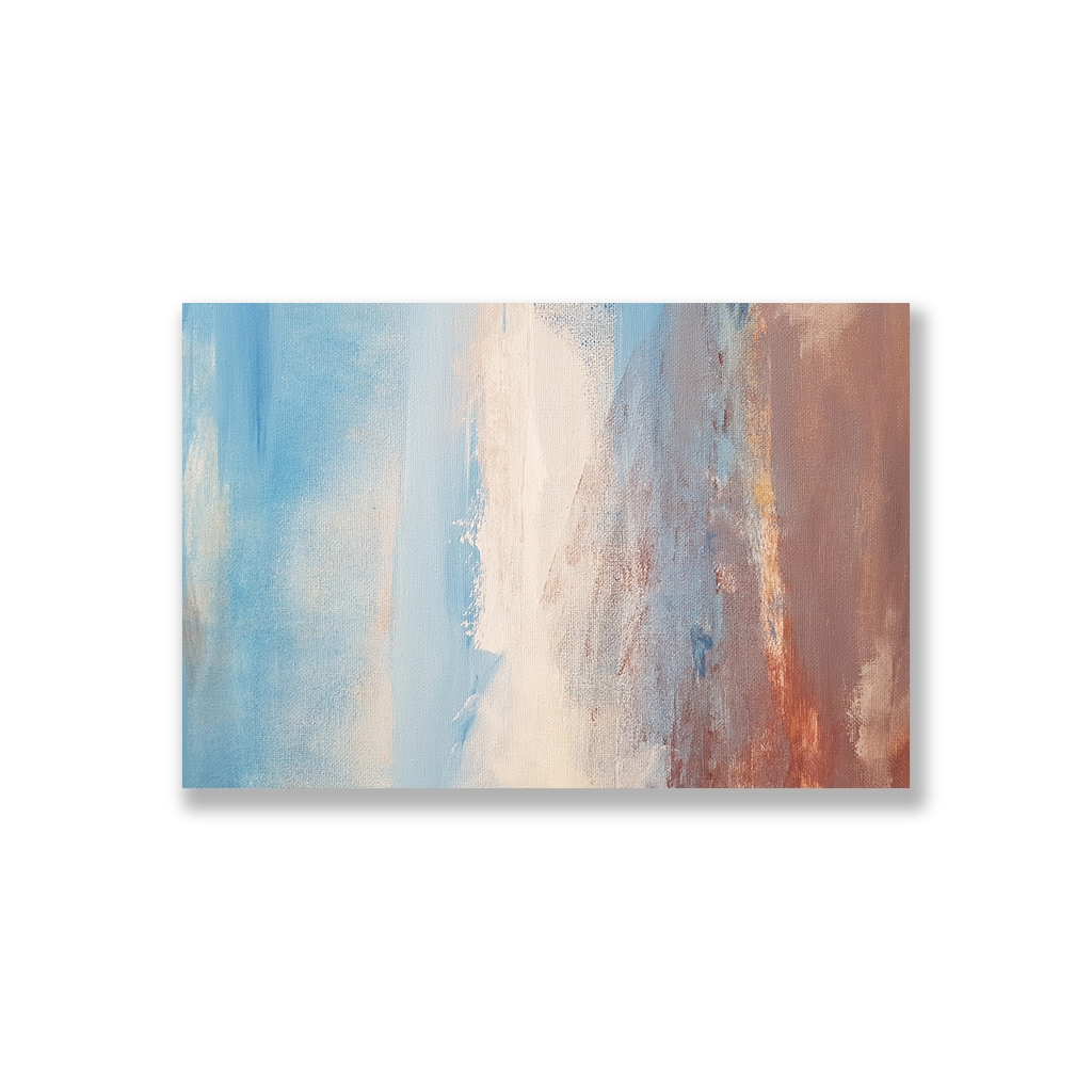 Tranh Abstract Blue painting SU0123