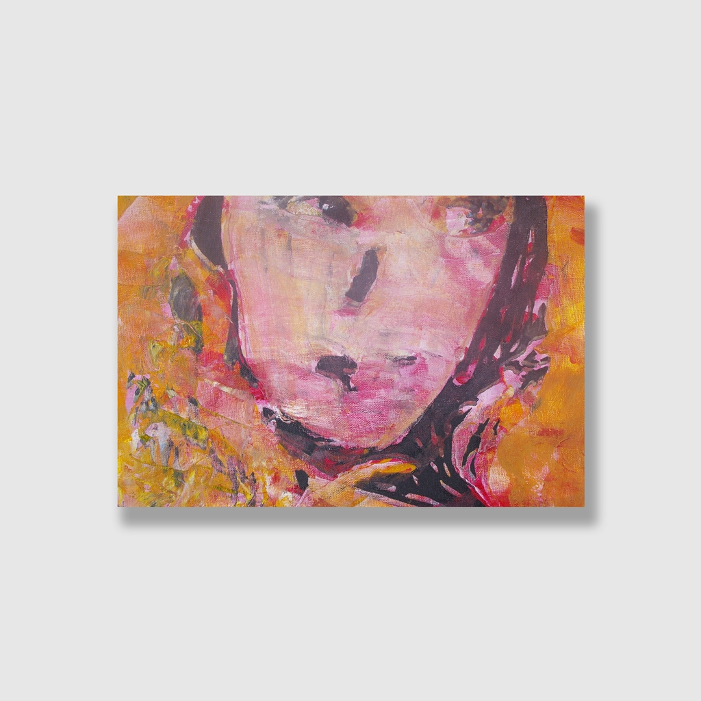 Tranh Woman abstract painting, lady art SU0135