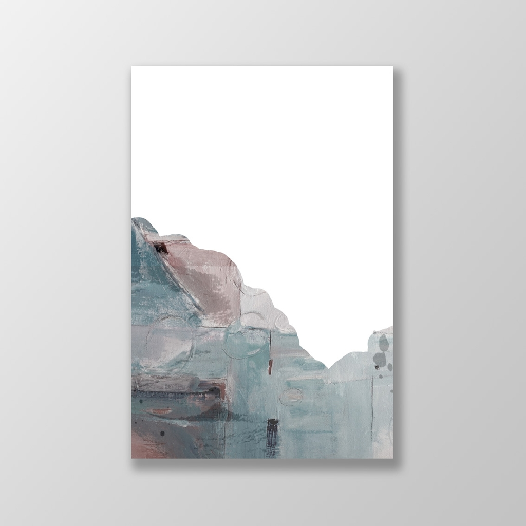 Tranh Abstract painting, mountain, landscape SU0143