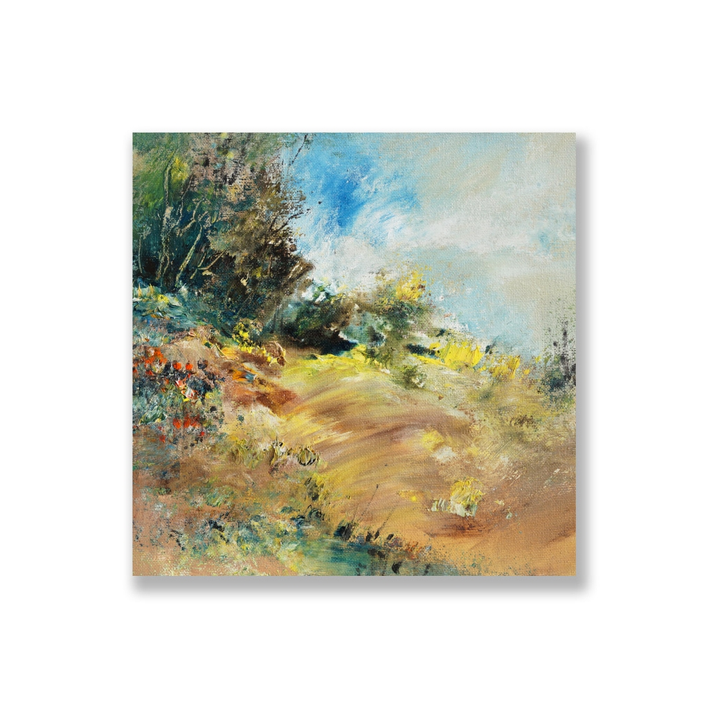 Tranh Abstract Landscape painting SU0153