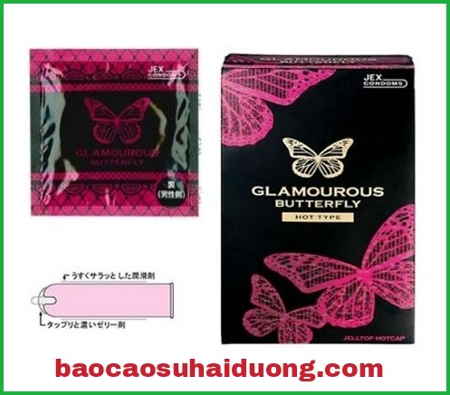 Bao cao su Glamourous Butterfly Hot