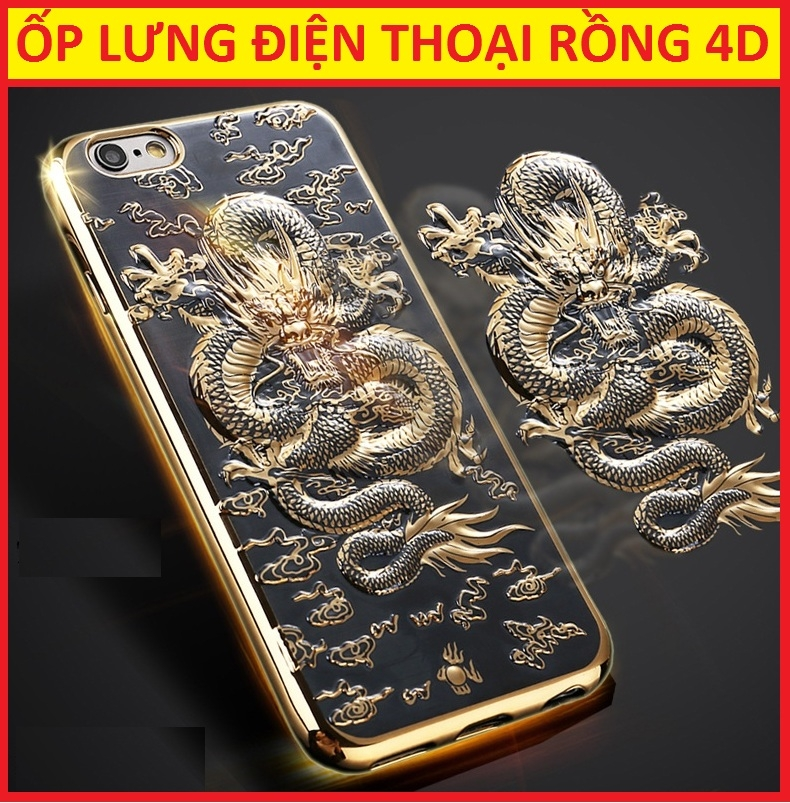 ỐP LƯNG RỒNG 4D IPHONE 7 PLUS