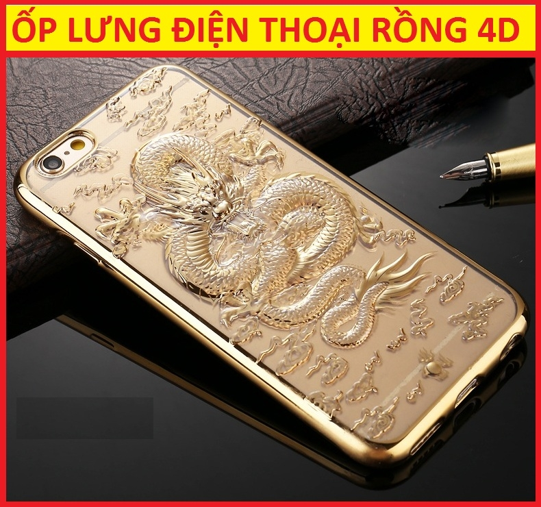 Copy of ỐP LƯNG RỒNG 4D IPHONE 6S PLUS