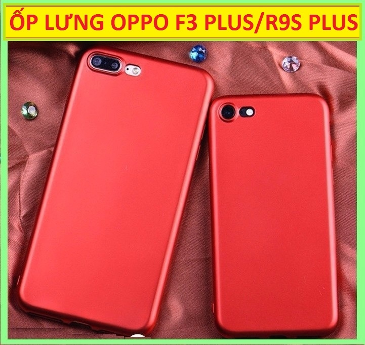 ỐP LƯNG SILICON OPPO R9S PLUS