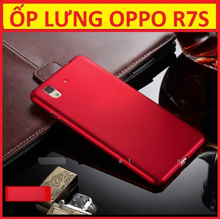 ỐP LƯNG SILICON OPPO R7S