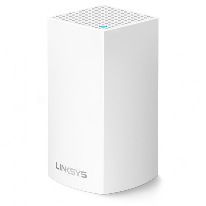 WiFi Linksys Velop Intelligent Mesh System WHW0101 - 1 Pack - (AC1300)