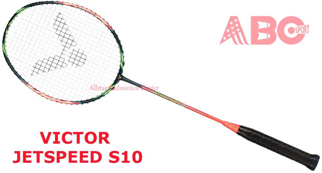 Badminton Racket Victor Original Jetspeed S10 - Allstar ...