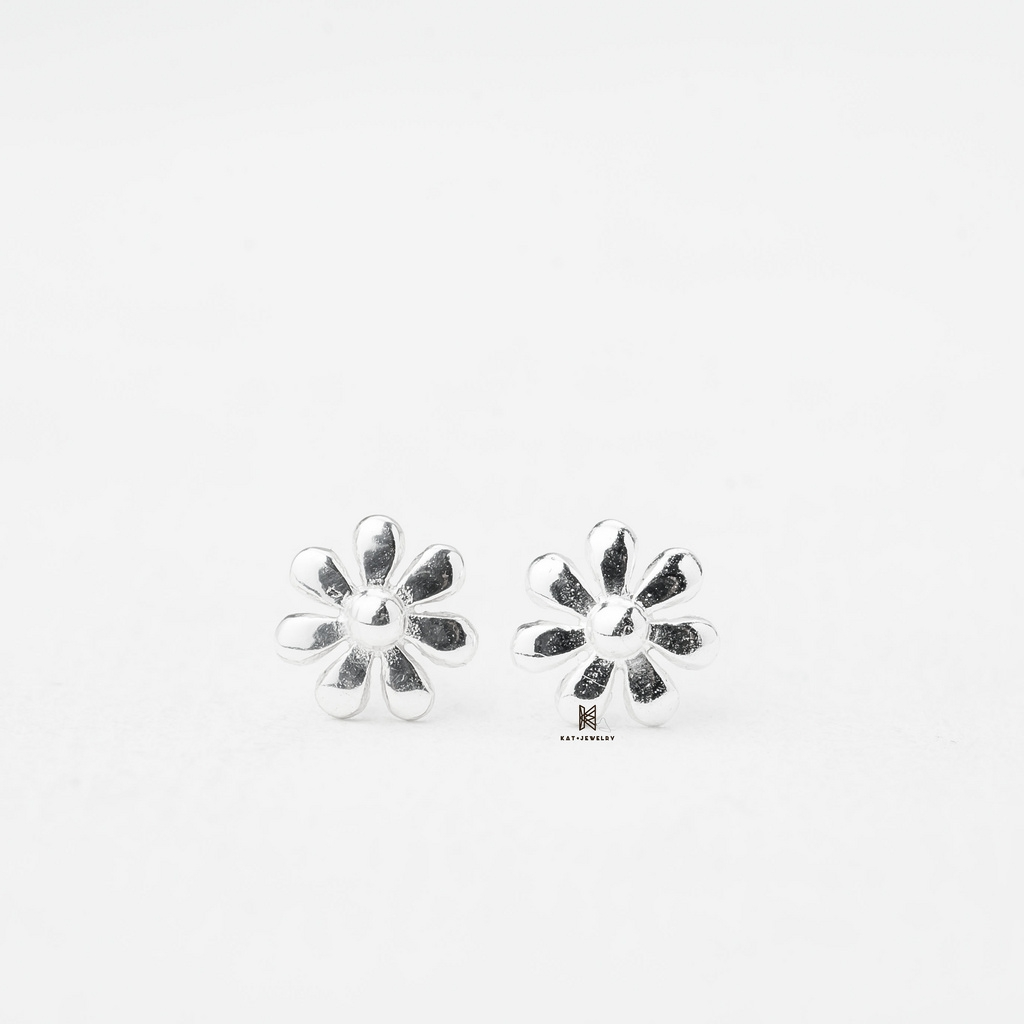 E STUD FLOWER SIMPLE