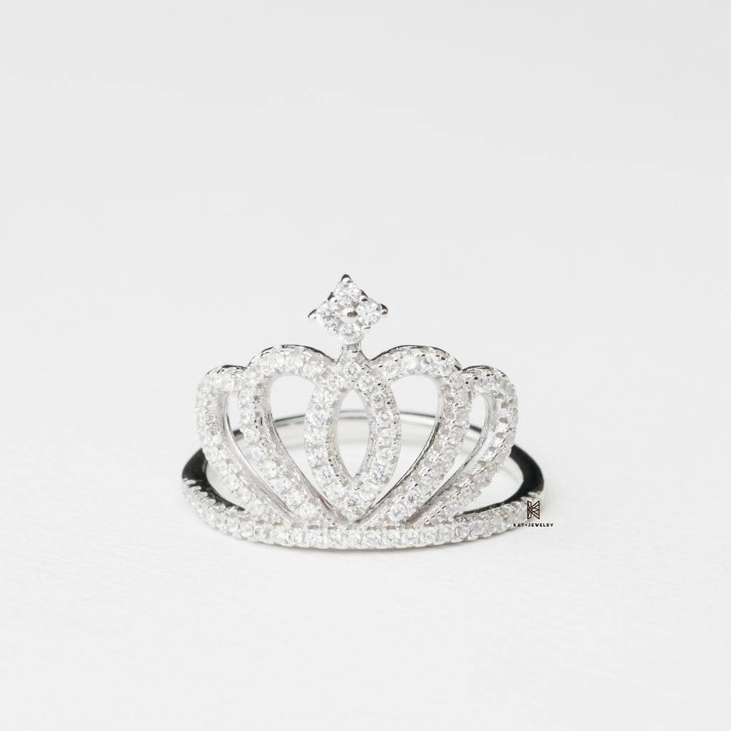 nhẫn bạc cao cấp cho nữ, trang sức bạc cá tính