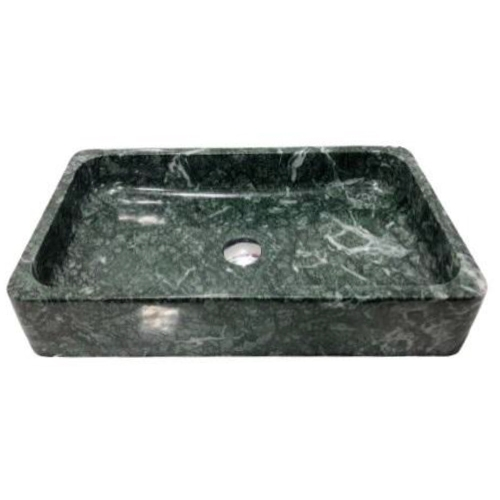 NATURAL BATHROOM BASIN - INDIA GREEN RECTANGLE BASIN - BST60A
