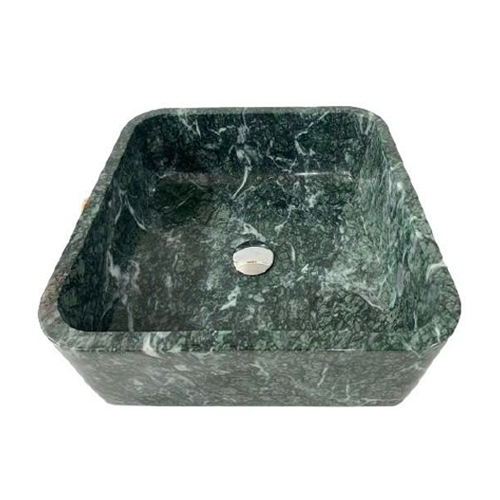 NATURAL STONE BATHROOM BASIN - INDIA GREEN - BST52