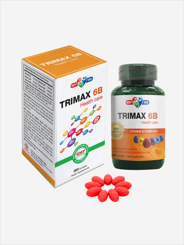 Trimax 6B - Softgels
