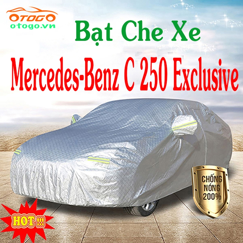 BẠT CHE PHỦ XE Mercedes-Benz C250 Exclusive