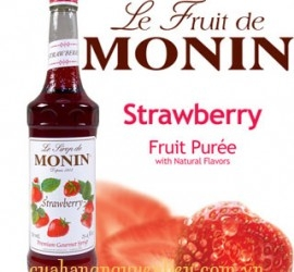 Siro Dâu - Monin Strawberry Syrup