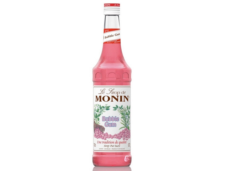 Sirô Bubble Gum hiệu Monin – chai 700 ml
