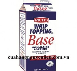 Whip Topping Base Rich's