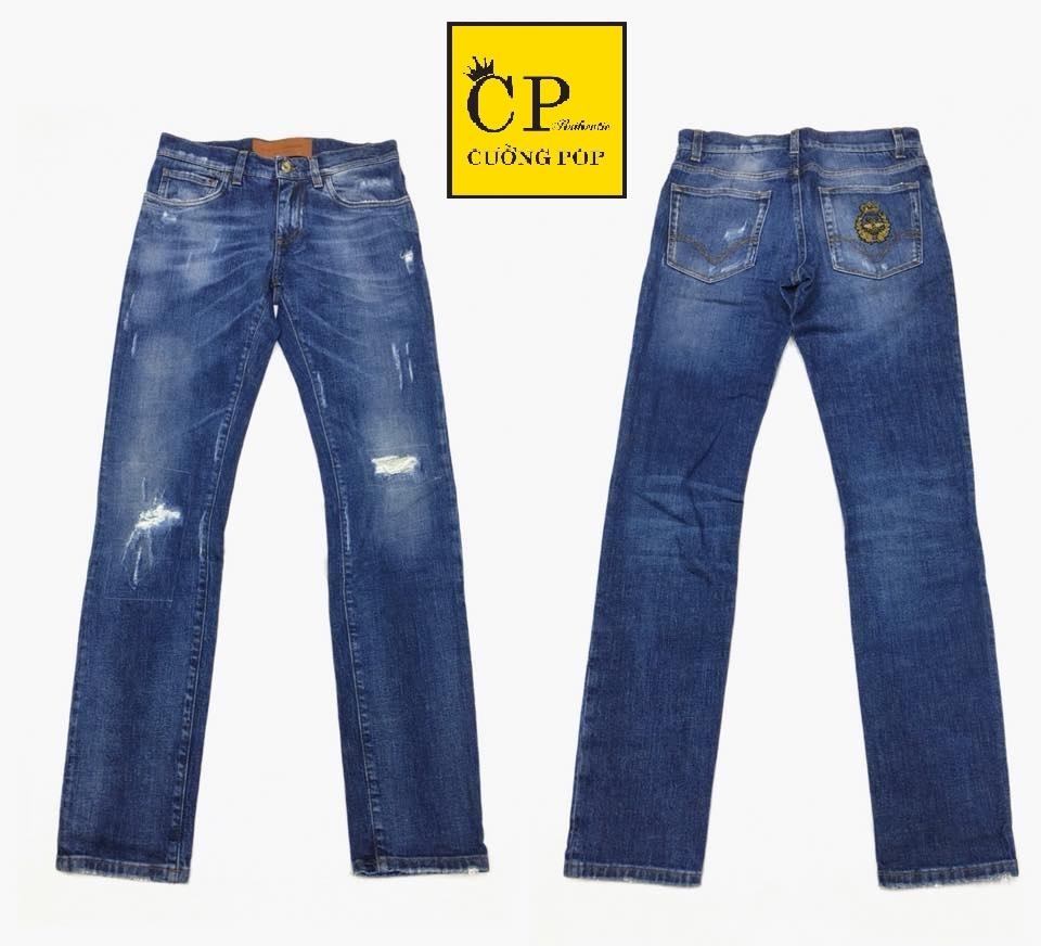 58129363524f Quần Jean Dolce Gabbana DG111 Cường Pop Authentic