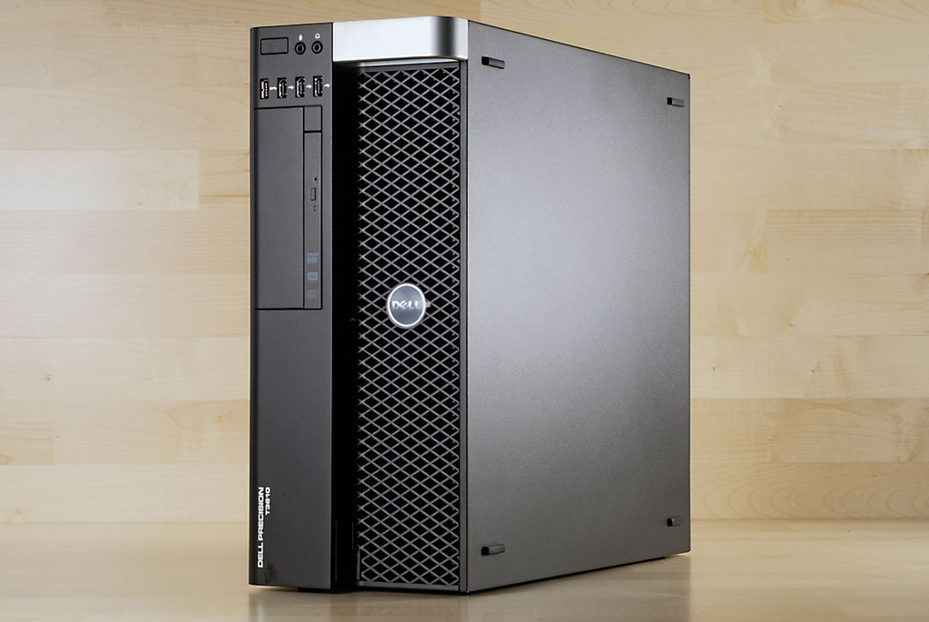 Máy trạm Dell T3610 Workstations (XEON E5-2696 V2/RAM 32GB ECC/SSD 250GB/HDD 1TB/VGA QUADRO K2000 2GB/DVD).