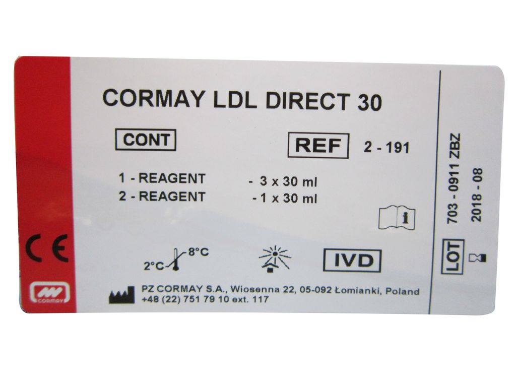 CORMAY LDL DIRECT 30