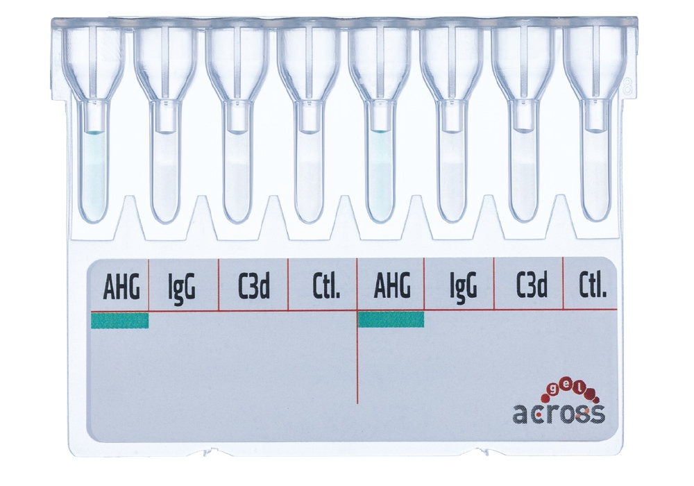 Across Gel® Monospecific Direct Coombs (DAT)  -  Diapro