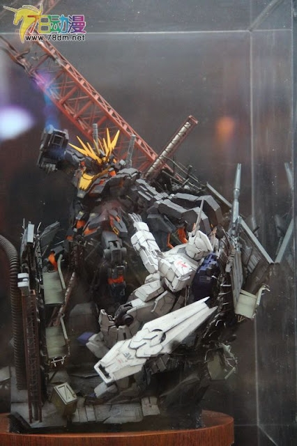 Gunpla Expo World Tour Shanghai 2012: GBWC 2012 China's Competition Gunpla On Display
