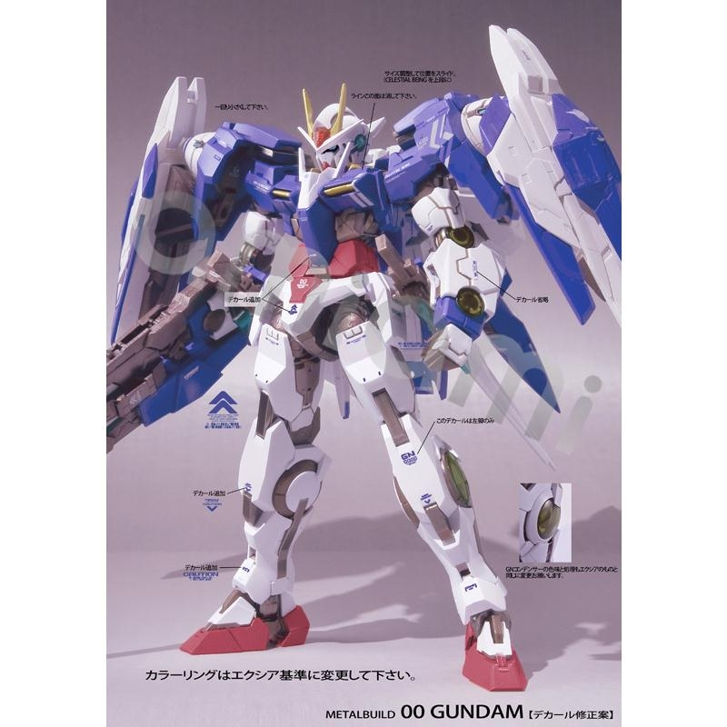 Metal Build 00 Raiser [Special Marking Ver.] - Very Limited