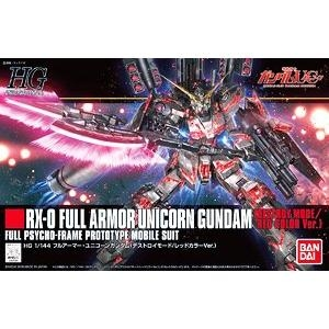 Full Armor Unicorn Gundam (Destroy Mode/Red Color Ver.) (HGUC)