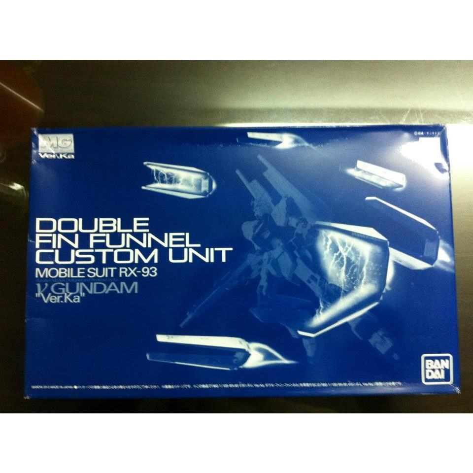 Limited Double Fin Funnel Custom Unit for MG RX-93 Nu Gundam Ver. Ka