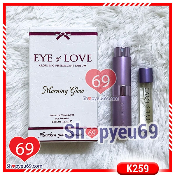 K259 Nước Hoa Kích Dục Nam Eye Of Love Morning Glow (16ml)