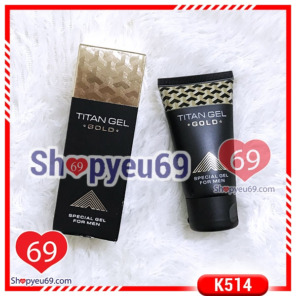 K514 Gel Bôi Trơn Titan Gel Gold (50ml)