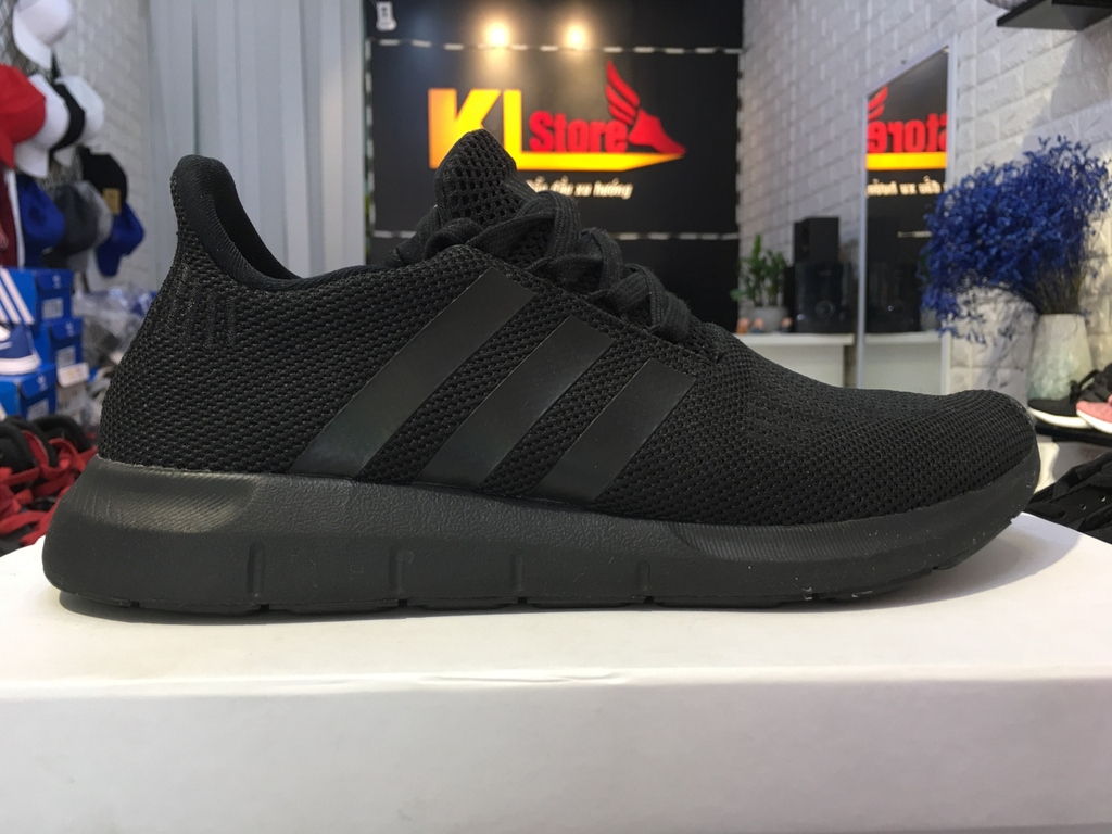 Adidas Swift Run Shoes All Black