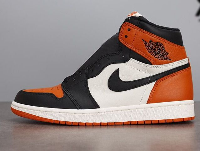 Giày Jordan 1 High Orange Black White