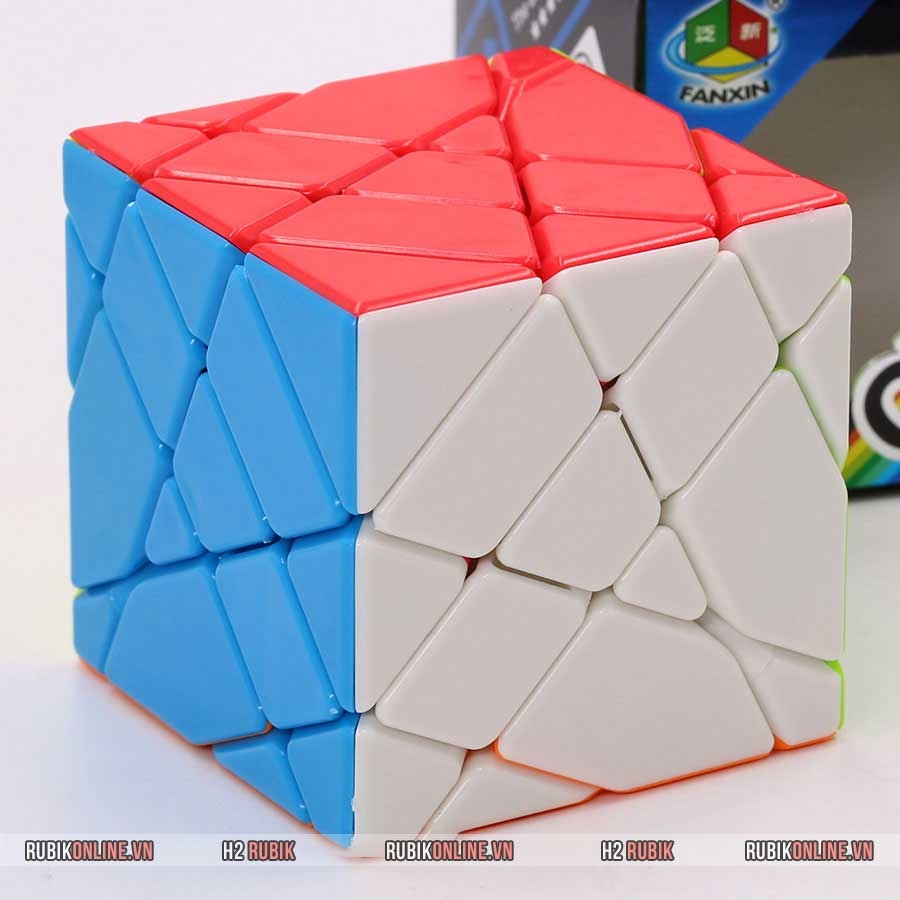 FanXin 4x4x4 Axis Cube Stickerless