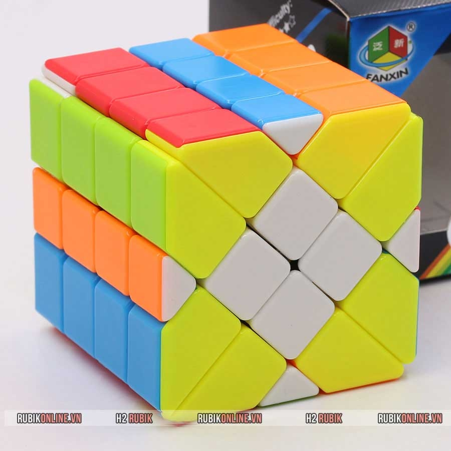 FanXin 4x4x4 Fisher Cube Stickerless