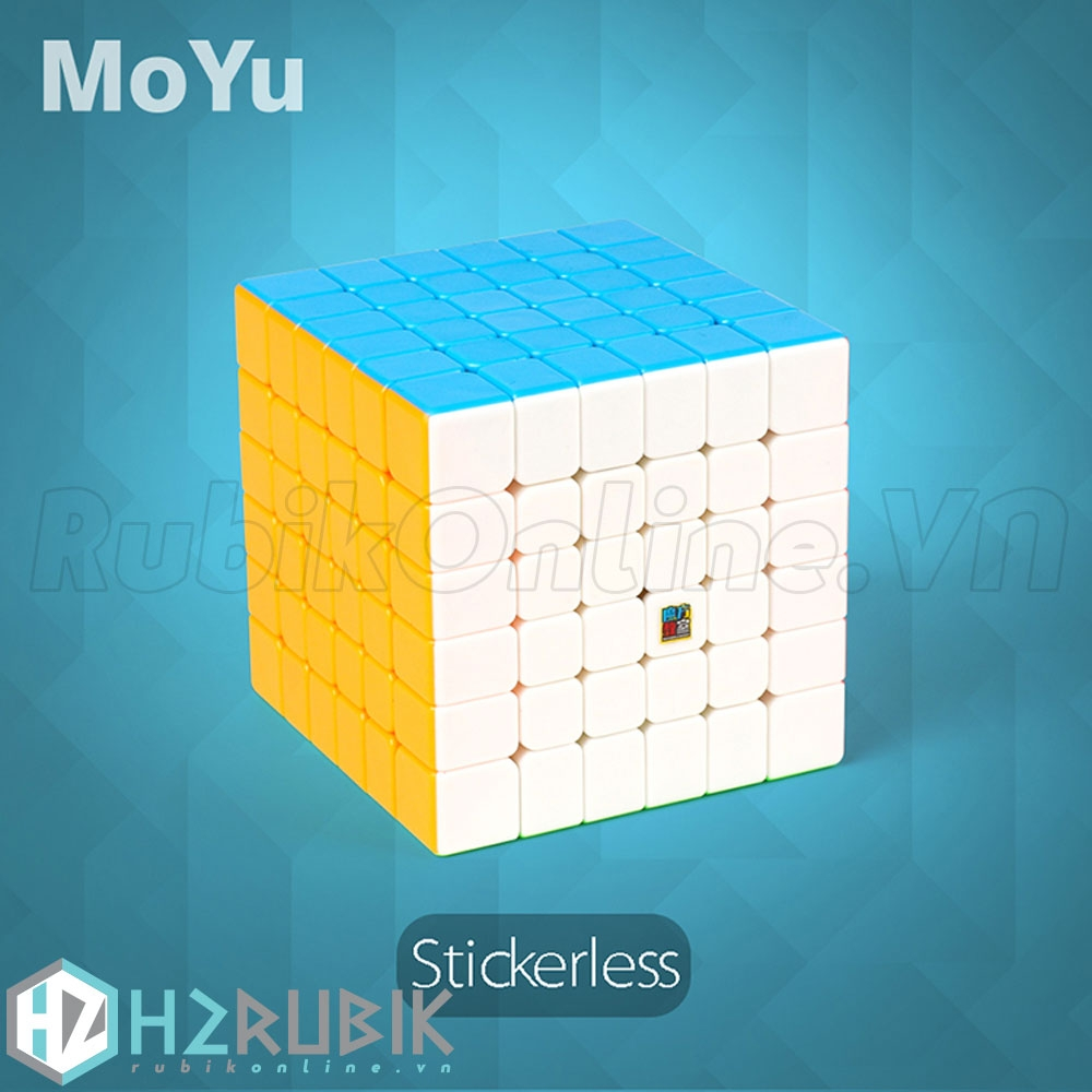MoFangJiaoShi 6x6 MF6 Stickerless