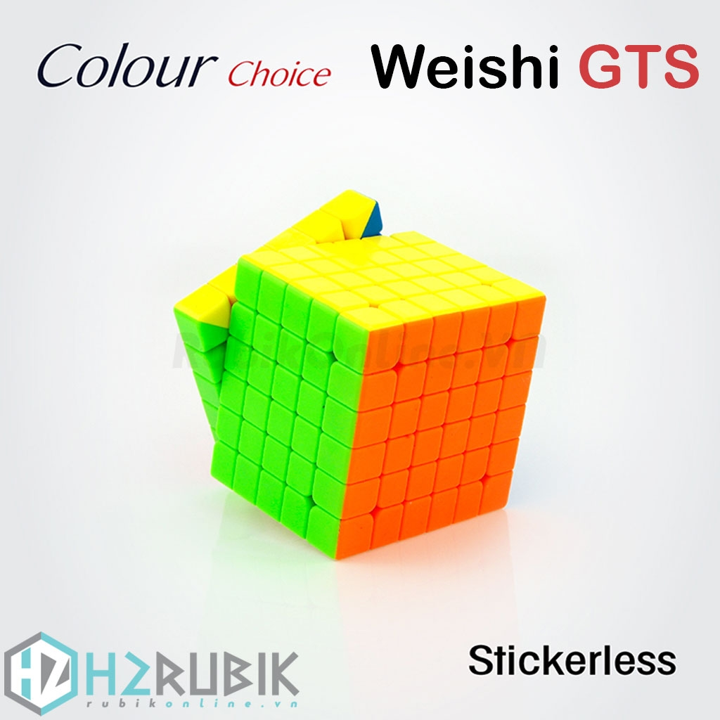 MoYu 6x6x6 WeiShi GTS Stickerless