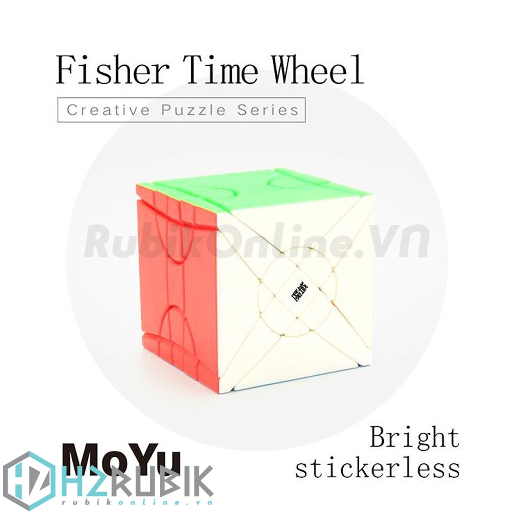 MoYu Fisher/Yileng Time Wheel Stickerless