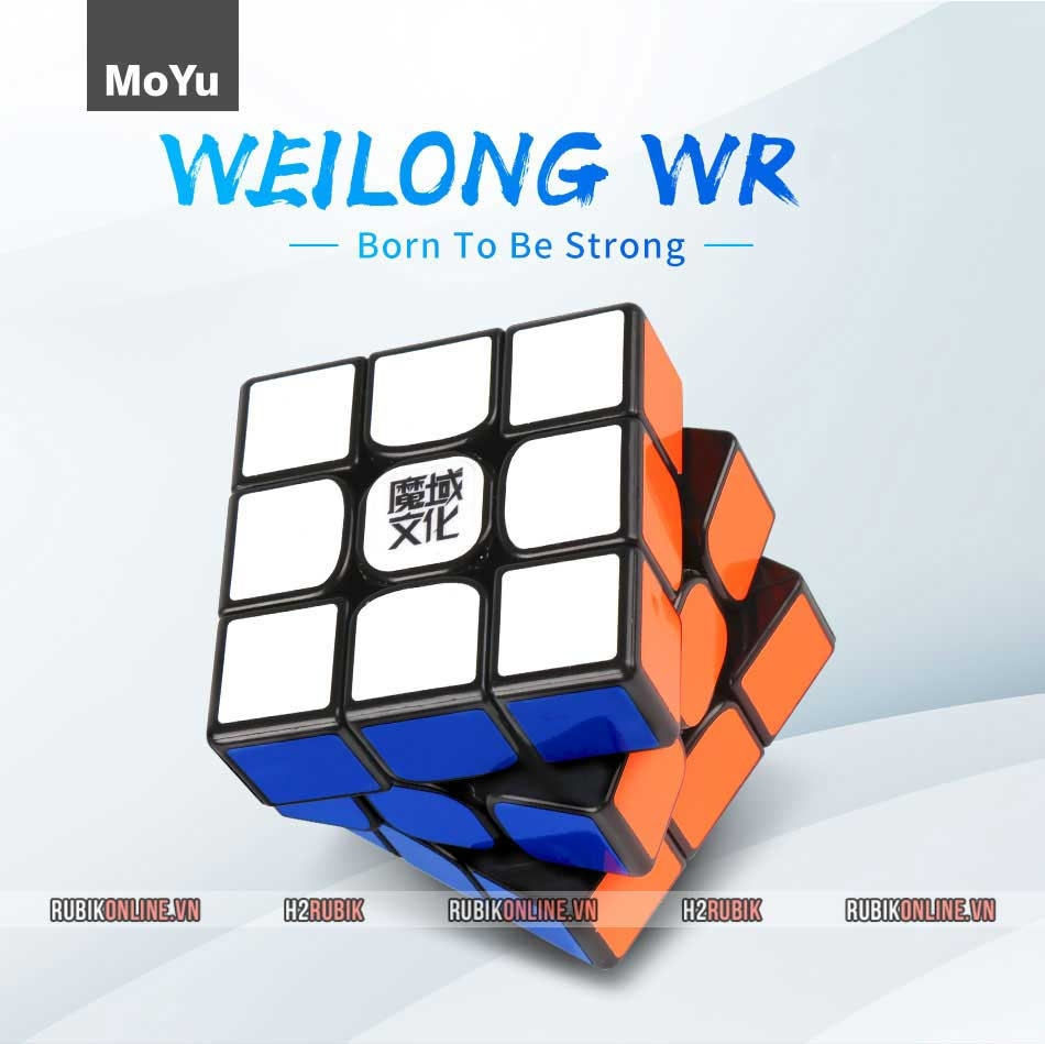 MoYu Weilong WR (Đen + Stickerless)