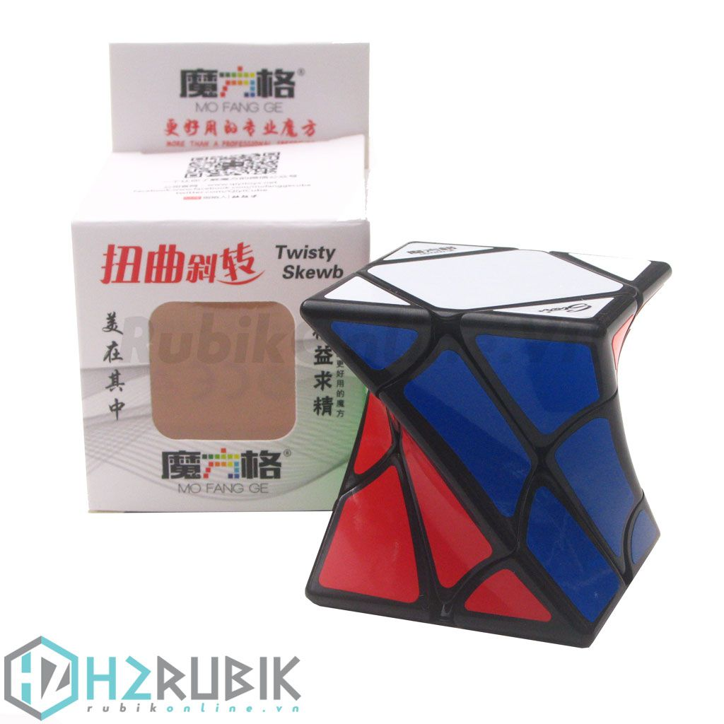 Qiyi Twisty Skewb Cube