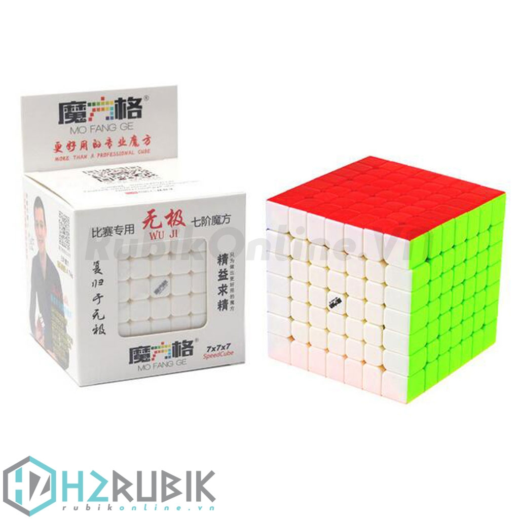 QiYi WuJi 7x7x7 Stickerless
