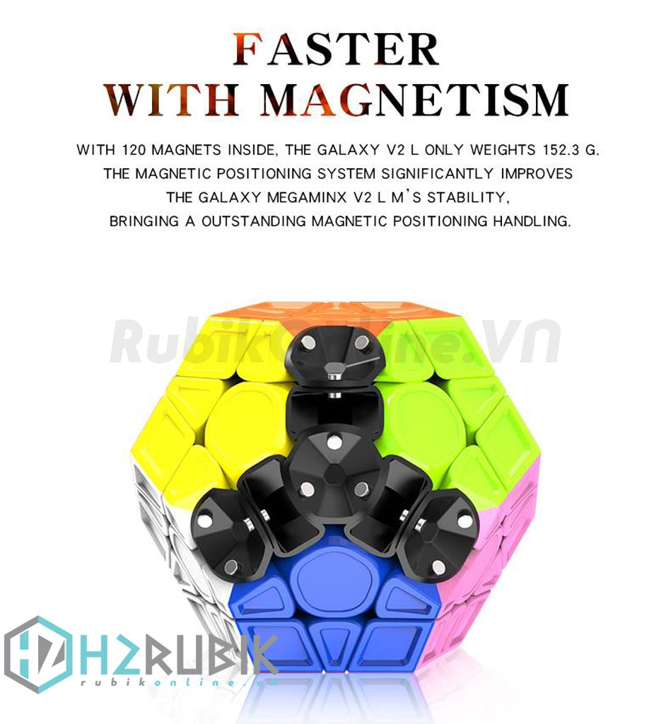 X-Man Galaxy Megaminx V2 L (Sculpted)
