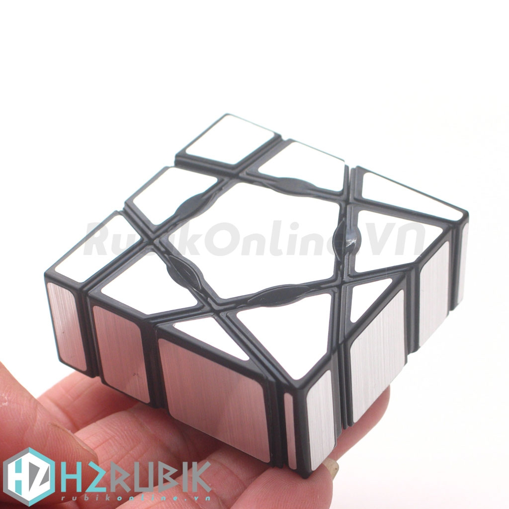 YJ Ghost Cube with Sliver Stickers