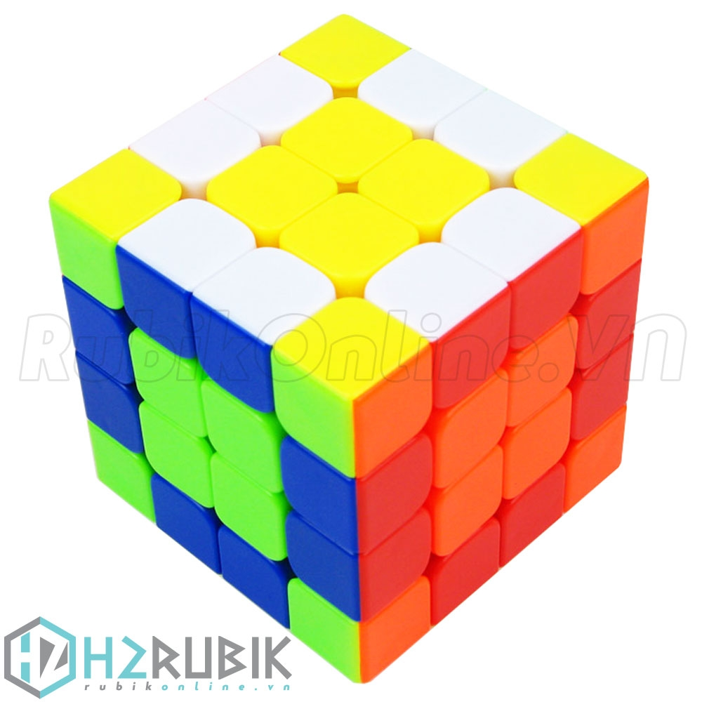 YuXin kylin 4x4x4 Stickerless