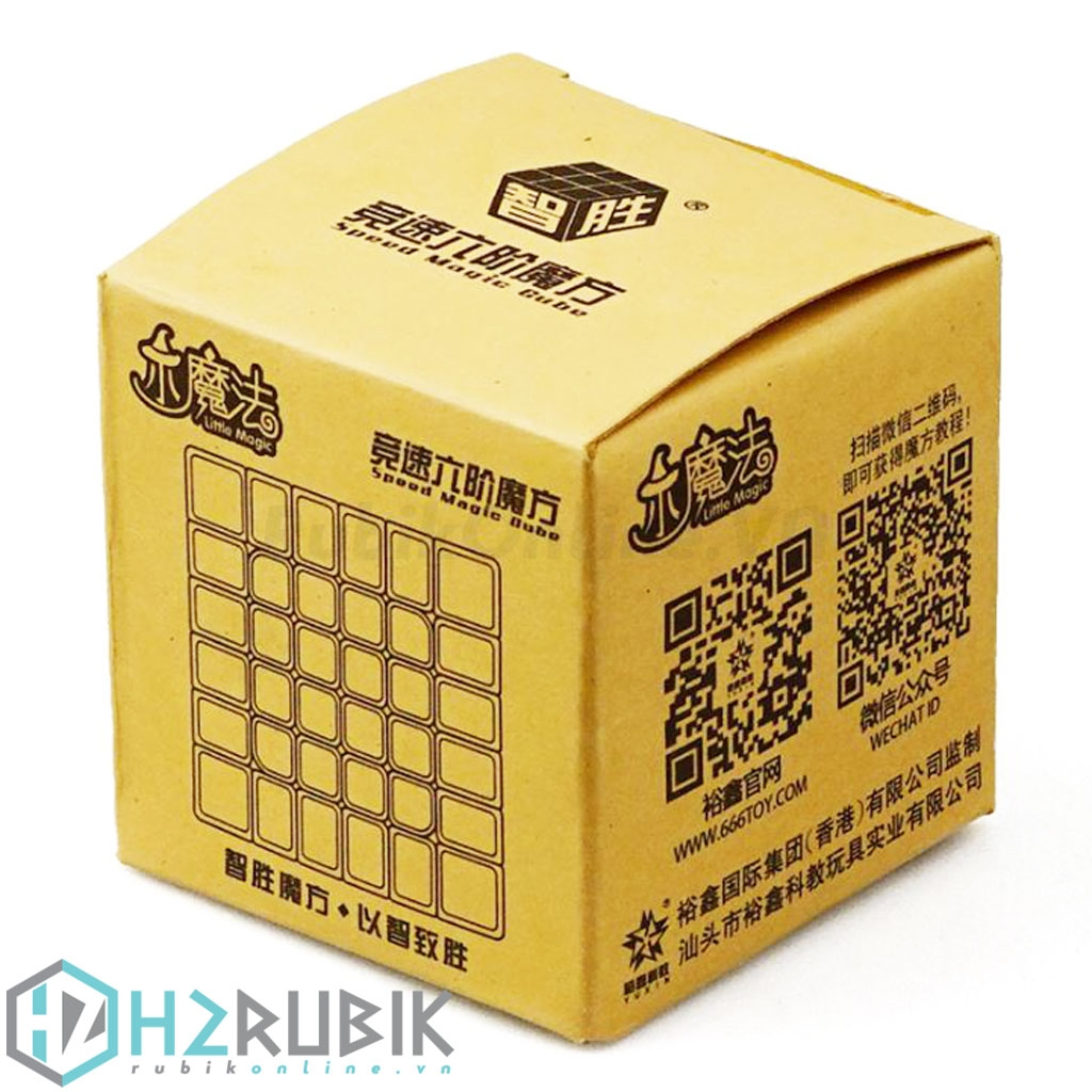 YuXin Little Magic 6x6 Stickerless - Rubik 6x6