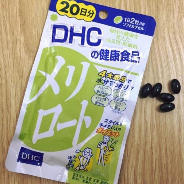 VIÊN UỐNG THON GỌN ĐÙI DHC | Mỹ phẩm Hea Store