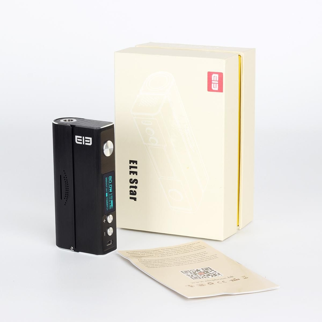 Elephone ELE Star 80W TC VW Variable Wattage APV Box Mod